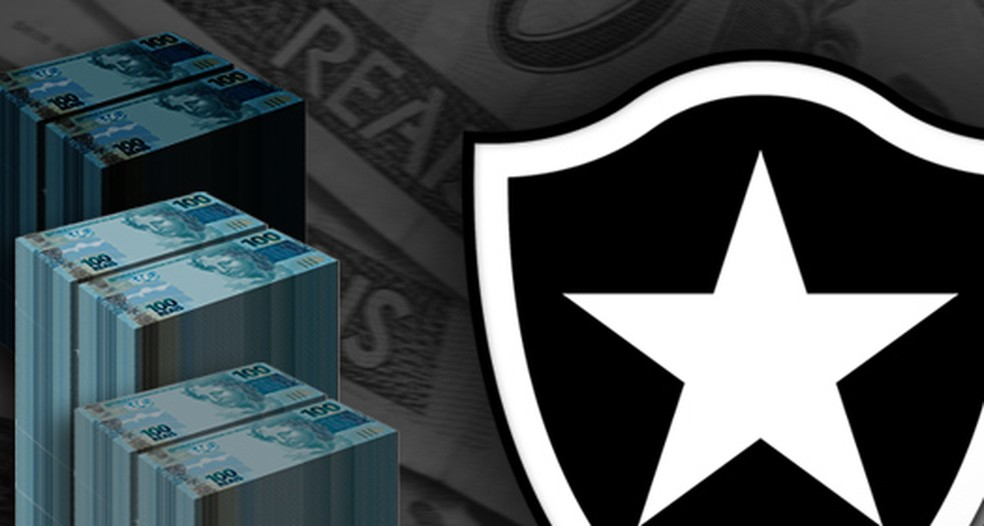 Botafogo sofre com projetos de reestruturação financeira que não decolam  — Foto: infoesporte