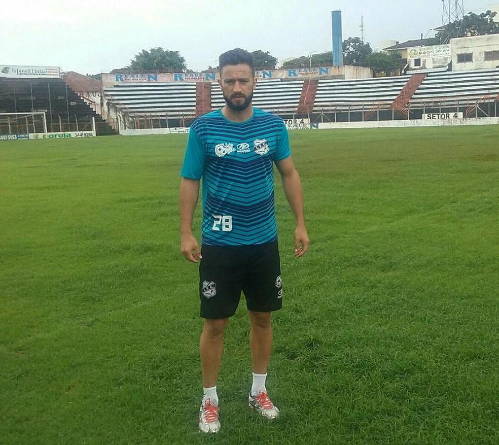 O ex-zagueiro Alex Bruno parou de jogar em 2018 — Foto: Jonathan Bueno / Independente FC