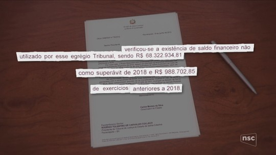 Carlos Moisés manda ofícios para poderes devolverem sobras orçamentárias ao Governo de SC