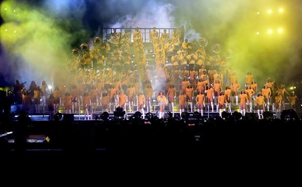 Beyoncé no Coachella 2018 (Foto: Getty Images)