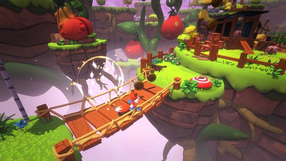 New Super Lucky's Tale aplica melhorias de câmera e novos conteúdos ao carismático jogo de plataforma — Foto: Divulgação/Microsoft