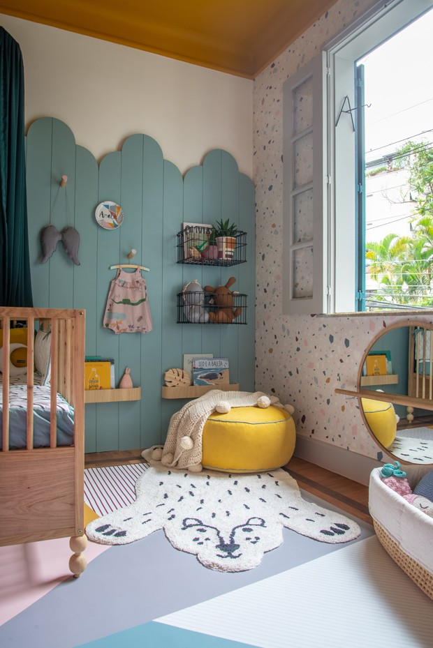 Décor do dia: quarto de bebê colorido (Foto: Divulgação)