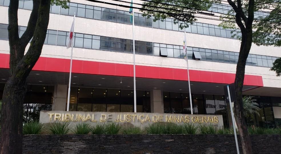 Fachada do Tribunal de Justiça de Minas Gerais — Foto: Danilo Girundi/TV Globo