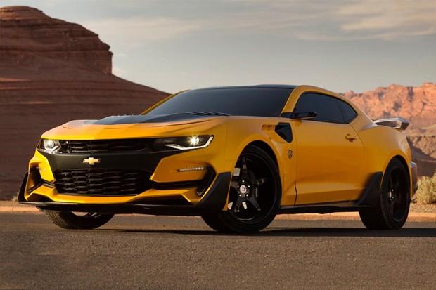 Chevrolet Camaro Bumblebee do filme Transformers: The Last Knight (Foto: General Motors)