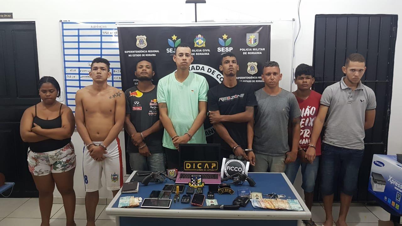 Polícia resgata jovem de cativeiro em tribunal do crime e prende 11 suspeitos em Boa Vista - Notícias - Plantão Diário