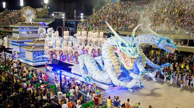 carnaval_escola de samba (Foto: Shutterstock)