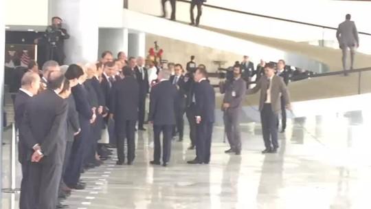 Temer recebe presidente do Paraguai em cerimônia com honras de Estado