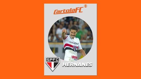 Atacantes mais escalados decepcionam na rodada #20, e Hernanes é o mito