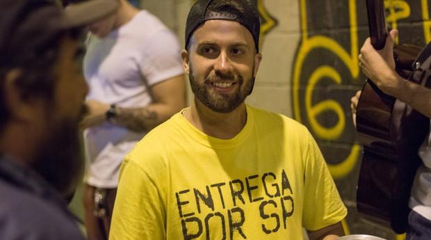 Bruno Saraiva criou um negócio social (Foto: Reprodução/Facebook/Entrega por SP)