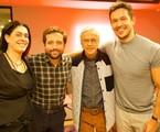 Paula Lavigne, Gregorio Duvivier, Caetano Veloso e João Vicente de Castro | Gui Machado