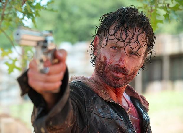 Andrew Lincoln: saída confirmada de The Walking Dead (Foto: Divulgação/ Gene Page/AMC)