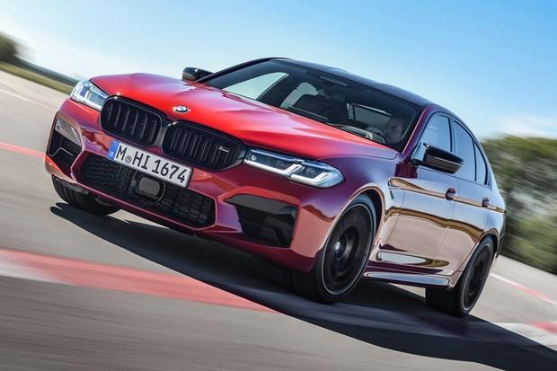 BMW M5 2021 Dianteira (Foto: D)