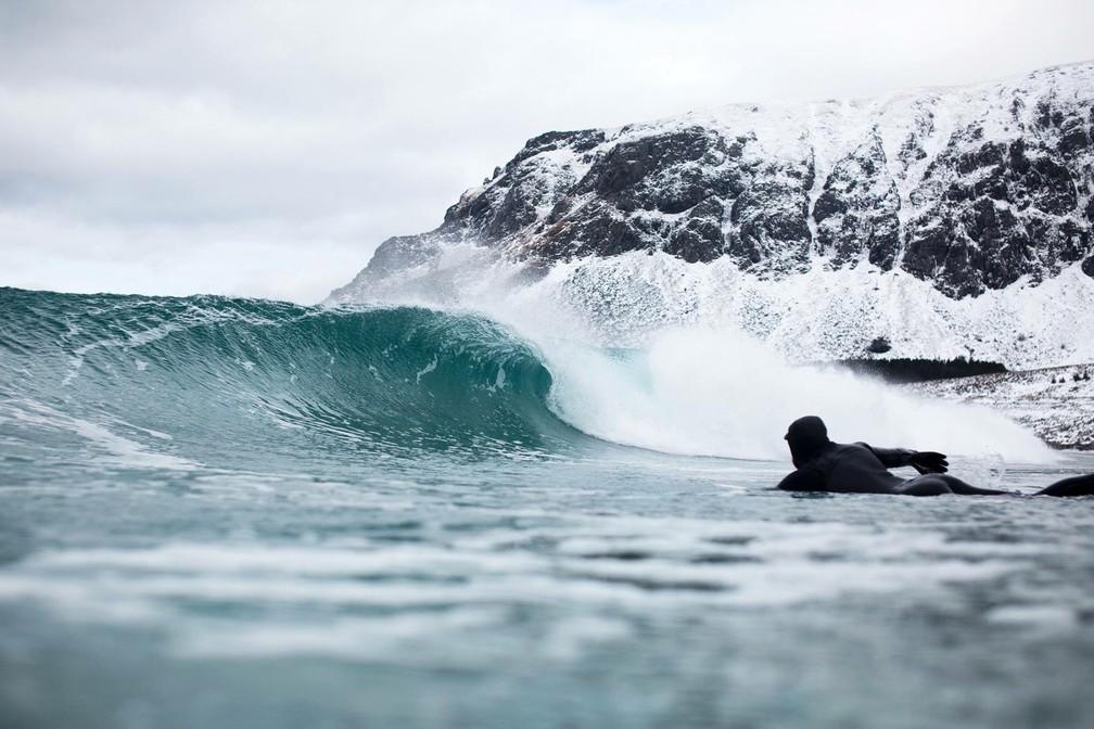 Onda é procurada por surfistas do mundo inteiro (Foto: Divulgação)
