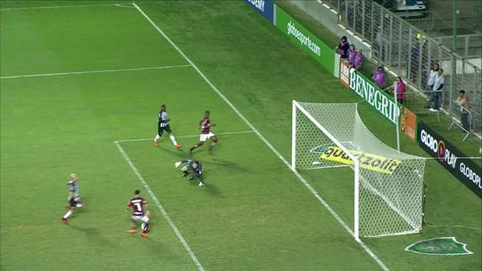Melhores momentos de Atlético-MG 0 x 1 Flamengo pela 7ª rodada do Campeonato Brasileiro