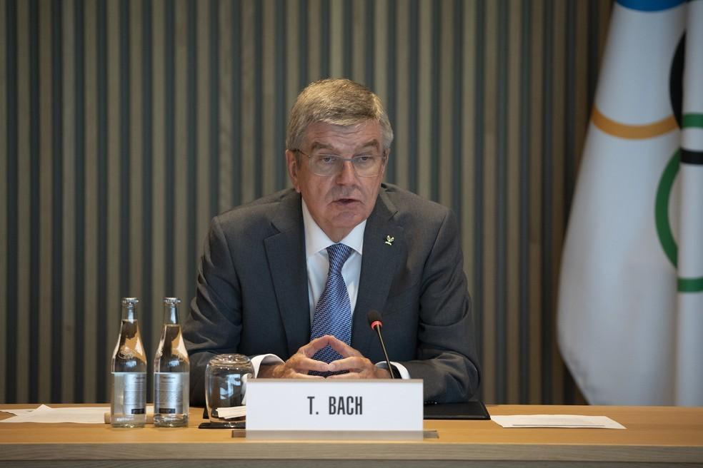 Thomas Bach, presidente do COI — Foto: Divulgação