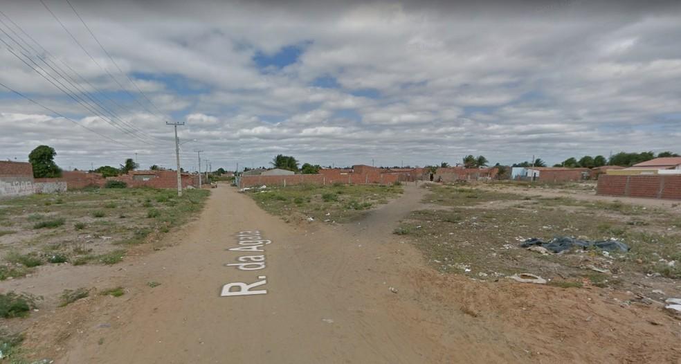 O crime aconteceu no bairro Dom Avelar  (Foto: Reprodução / Google Street View)