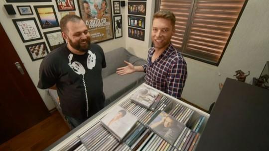 Colecionador possui mais de 400 CDs de novelas