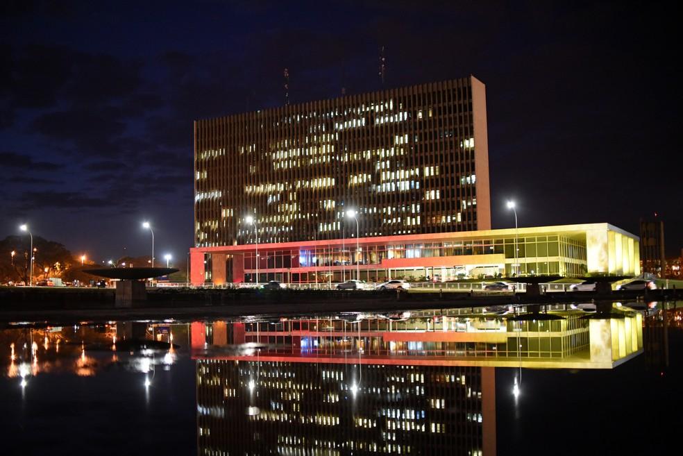 Fachada do Palácio do Buriti, em Brasília (Foto: Andre Borges/Agência Brasília)