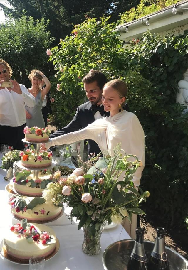 Alexandra Carl se casa com Jacob John Harmer em Copenhagen (Foto: Instagram Isabella Parndt/ Reprodução)
