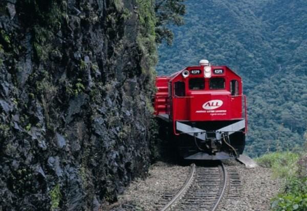 Trem da ALL América Latina Logística (Foto: Divulgação)