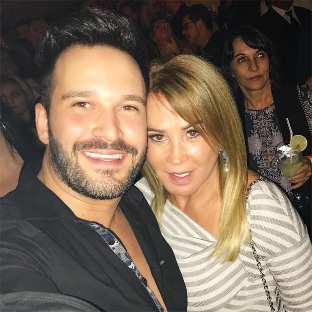 Zilu Godói e Marco Ruggiero (Foto: Reprodução/Instagram)