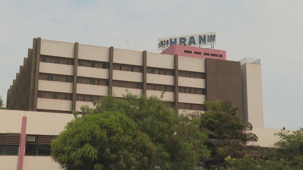 Hospital Regional da Asa Norte (Hran) é referência no combate ao coronavírus no DF  — Foto: TV Globo/Reprodução