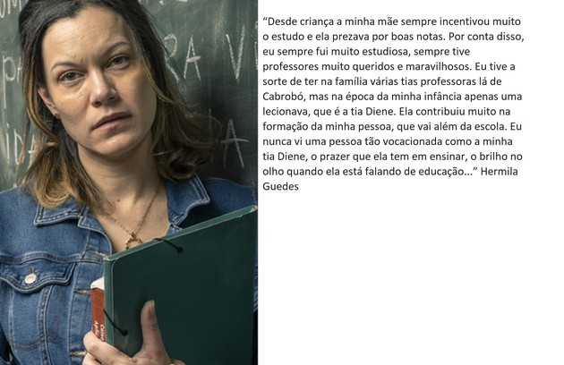 Hermila Guedes retorna no elenco principal  (Foto: TV Globo)