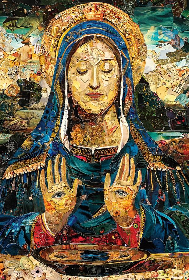 """Mercado da Arte: """"Repro (Saints): Saint Lucy"""", de Vik Muniz (Foto: divulgação)"""