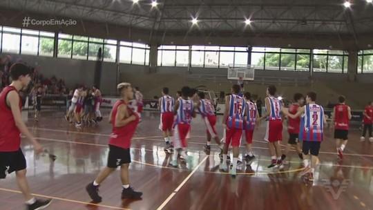 Confira como foi a volta às aulas dos campeões da 5ª edição da Copa TV Tribuna de Basquete
