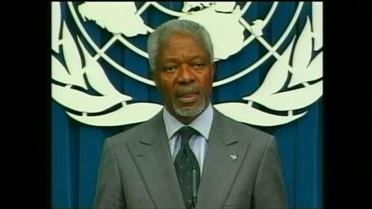 Morre Kofi Annan, ex-secretário-geral da ONU e Nobel da Paz