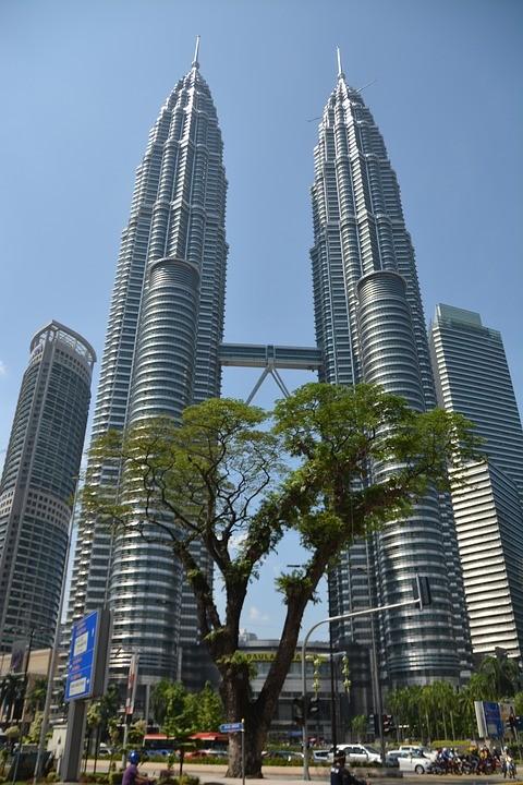 Torres Petronas, projeto de César Pelli (Foto: Reprodução)