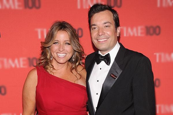 Jimmy Fallon e Nancy Juvonen (Foto: Getty Images)