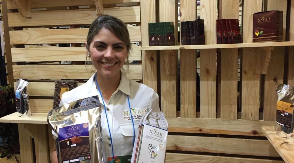 Luciana Centeno, fundadora da marca de chocolates artesanais Nayah (Foto: Editora Globo)