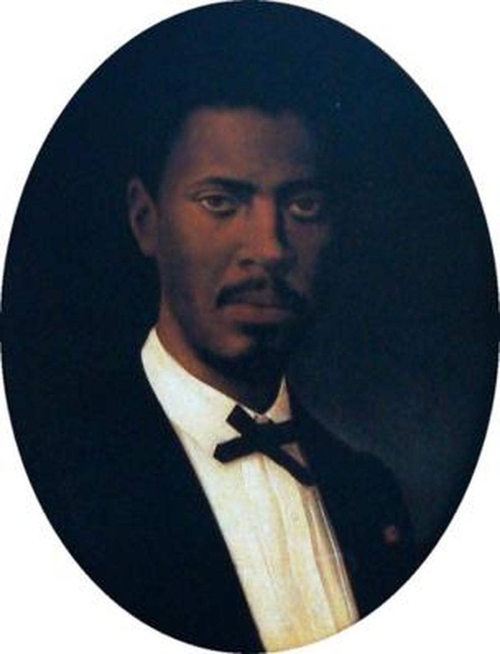 André Rebouças era adepto de uma reforma agrária que concedesse terras para os ex-escravos — Foto: Museu Afro Brasil