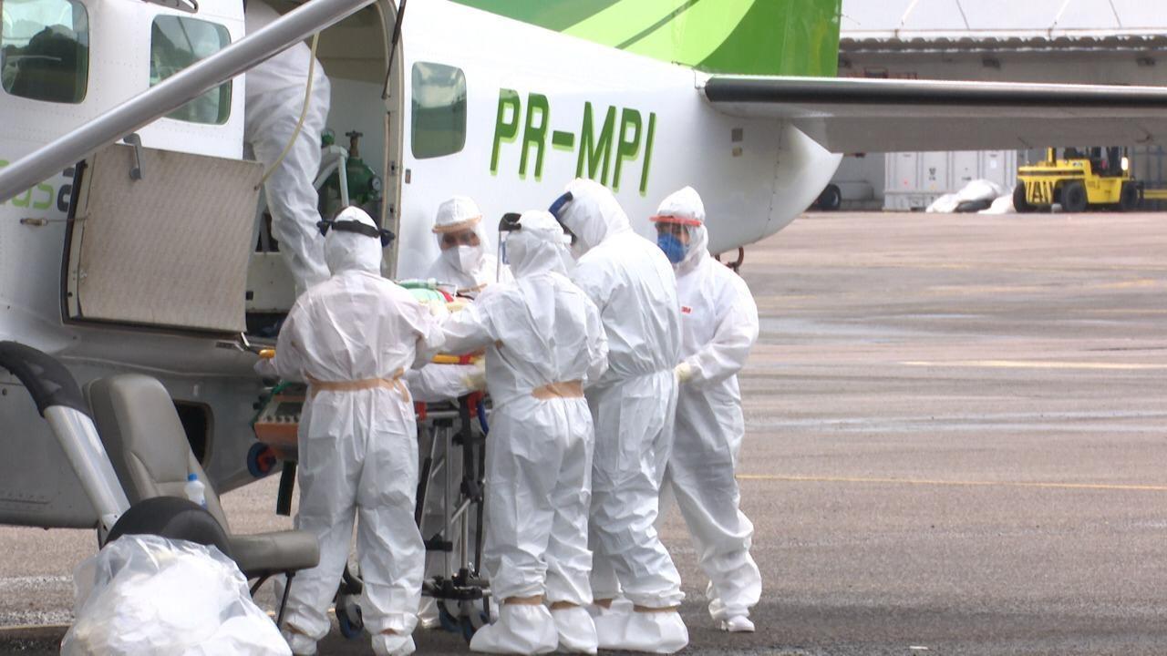 Pacientes de Tabatinga, no AM, são transferidos para o Acre