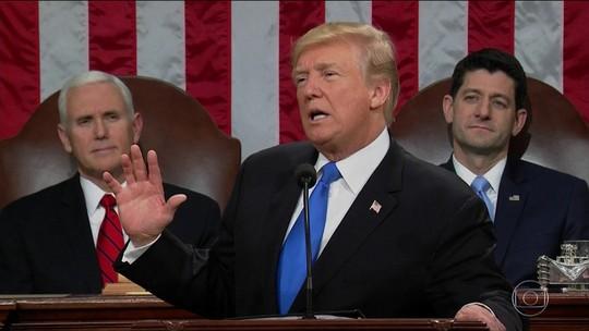 Trump pede aprovação de verba para infraestrutura e imigração