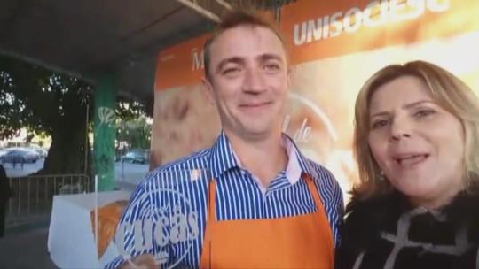 Cuca de Amora com Farofa de Granola vence o 4º Festival de Cucas de Joinville