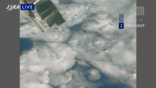 Três minissatélites são lançados da Estação Espacial Internacional; veja vídeo