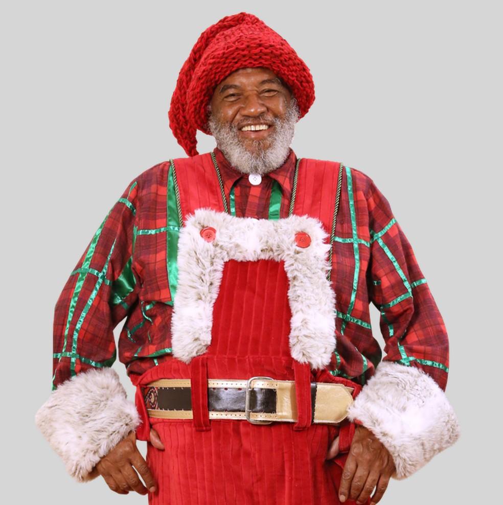 Papai Noel chega ao ValeSul Shopping (Foto: ValeSul Shopping/ Divulgação)