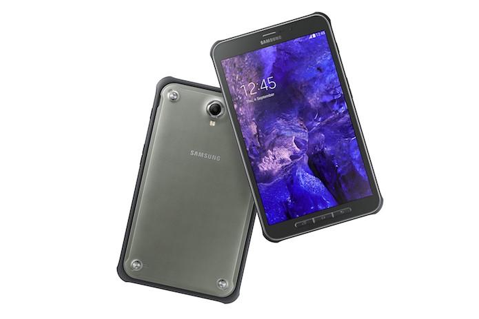 Galaxy Tab Active de frente e de costas (Foto: Divulgação/Samsung)