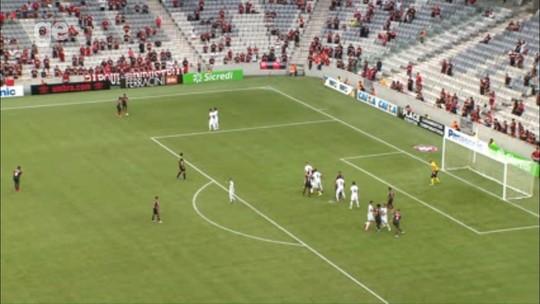 Movimentação e jogadas pelos lados: Atlético-PR mostra a primeira cara para 2018