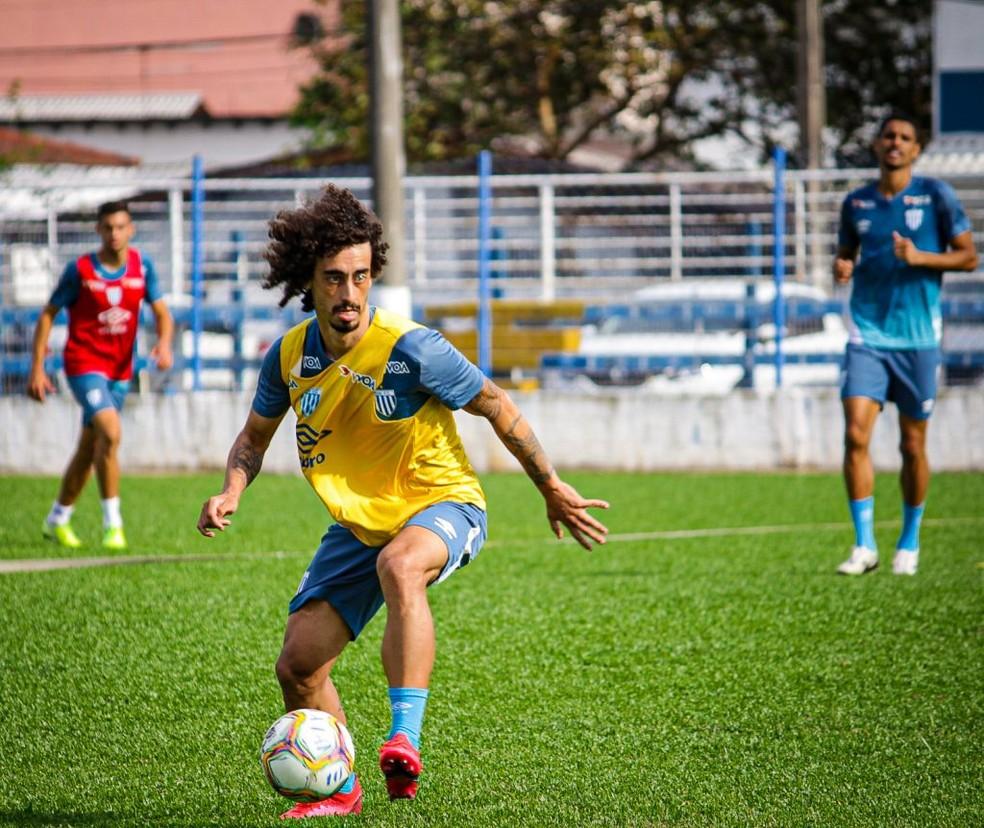Valdívia está no elenco do Avaí — Foto: André Palma Ribeiro/Avaí FC
