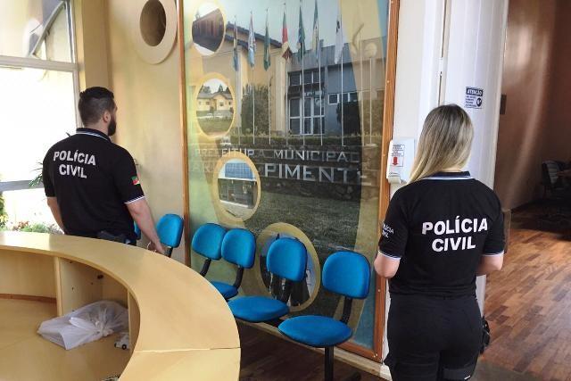 Operação da Polícia Civil investiga irregularidades na prefeitura de Mariana Pimentel - Notícias - Plantão Diário
