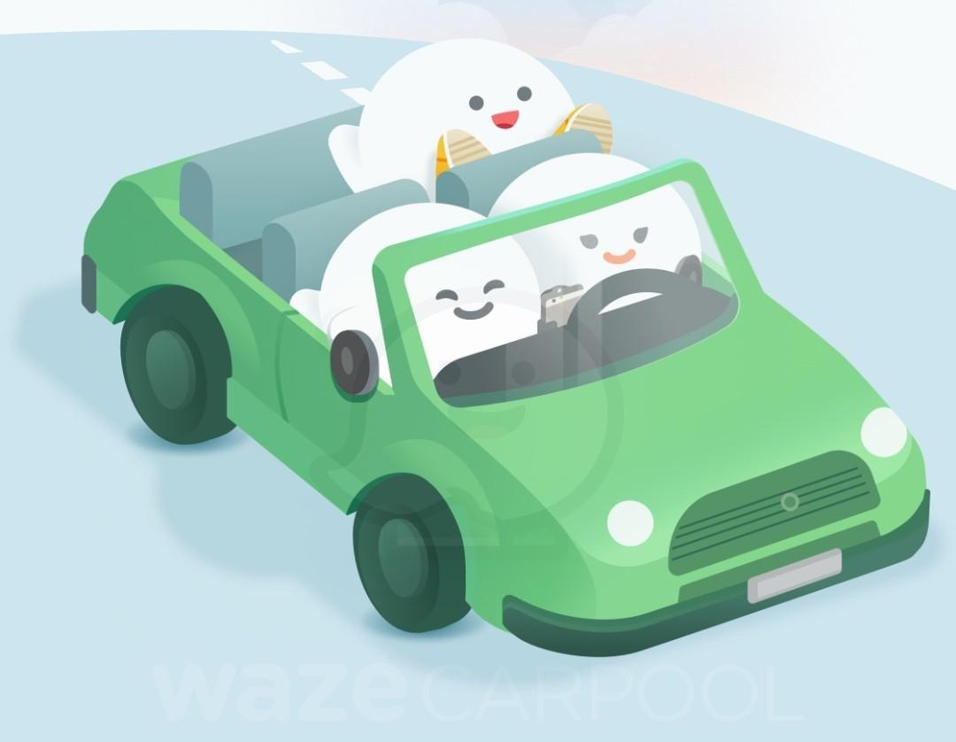 Waze Carpool, de caronas pagas, começa a funcionar no Brasil (Foto: Divulgação/Waze)