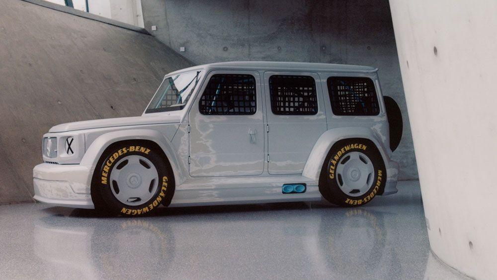Virgil Abloh se une à Mercedes para projetar carro de corrida (Foto: Bafic)