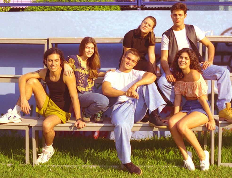 'Malhação' estreou em 1995 — Foto: Christina Bocayuva/Globo