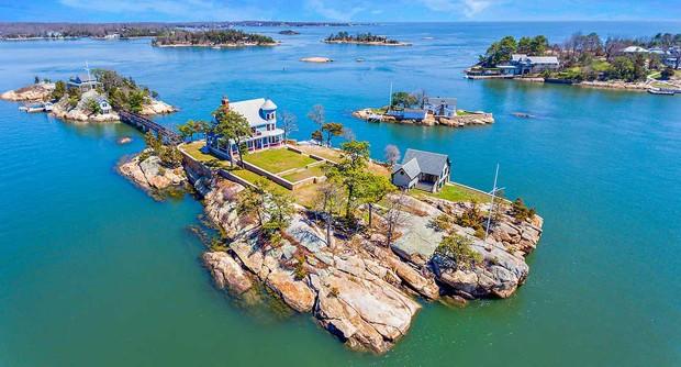 Ilha privada com casa de tirar o fôlego nos EUA é colocada à venda por R$12,2 milhões  (Foto: Reprodução / Vladi Private Islands)