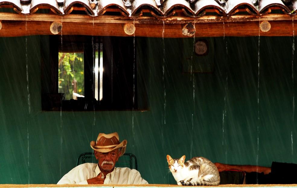 Previsão é de chuva intensa de até 50 mm, combinada de ventos fortes, no Sertão da Paraíba — Foto: André Pessoa/Arquivo pessoal