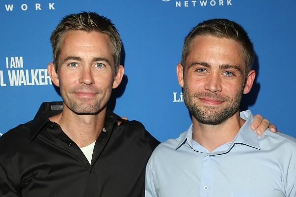 Os irmãos do ator Paul Walker (1973-2013), Cody e Caleb (Foto: Getty Images)