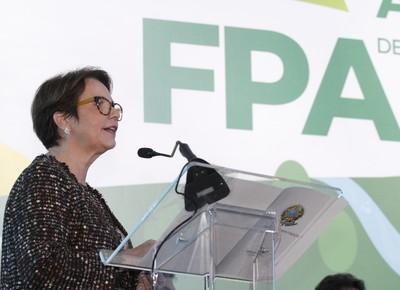 tereza cristina-frente parlamentar da agropecuária-fpa-ministério-agricultura-ministra (Foto: FPA/Flickr)
